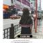 ชุดเดรสแฟชั่นแขนกุด ดไซน์เก๋-1474-สีดำ thumbnail 2