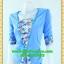 2535ชุดทํางาน เสื้อผ้าคนอ้วนเทาลายวินเทจตัดต่อผ้าพื้นและลายคั่นด้วยกุ้นสี แขนยาว สไตล์เนี๊ยบสุดหรูมีรสนิยมเลือกชุดทำงาน thumbnail 3