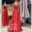 รหัส ชุดราตรียาว : PF002 ชุดราตรียาว เดรสออกงาน ชุดไปงานแต่งงาน ชุดแซก สีแดง สวยด้วยลูกไม้ด้านบนและเรียบหรูด้วยผ้าซาติน เหมาะสำหรับงานแต่งงาน งานกลางคืน กาล่าดินเนอร์ thumbnail 1