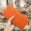 กระเป๋าสตางค์ผู้หญิง ทรงยาว รุ่น Cheer Orange/White thumbnail 10