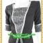 2472ชุดทํางาน เสื้อผ้าคนอ้วนเทาลายวินเทจตัดต่อผ้าพื้นและลายคั่นด้วยกุ้นสี แขนยาว สไตล์เนี๊ยบสุดหรูมีรสนิยมเลือกชุดทำงาน thumbnail 3
