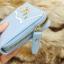 กระเป๋าสตางค์ผู้หญิงทรงสั้นซิป สีฟ้า thumbnail 4