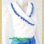 3103เสื้อผ้าคนอ้วน เสื้อผ้าแฟชั่นลูกไม้ขาวปกป้ายแต่งระบายหวานสไตล์สาวทำงานครบเครื่อง thumbnail 2