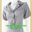 2776ชุดทํางาน เสื้อผ้าคนอ้วนชุดผ้าวูลพีซปกฮาวาย แต่งพื้นสลับลายกระโปรงย้วย สไตล์หวานเรียบร้อย thumbnail 3
