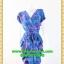 1909เสื้อผ้าคนอ้วน ชุดทำงานจับเดรฟกระโปรงสวยสะดุดตาสไตล์ออกงาน คอวีป้ายสีม่วงลาเวนเดอร์สุดหรู thumbnail 1