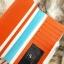 กระเป๋าสตางค์ผู้หญิง ทรงยาว รุ่น Cheer Orange/White thumbnail 7
