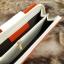 กระเป๋าสตางค์ผู้หญิง ทรงยาว รุ่น Cheer Orange/White thumbnail 8