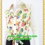 2668ชุดทํางาน เสื้อผ้าคนอ้วนชุดลายดอกสไตล์เชิ๊ตแขนยาวครึ่งศอกปลายแขนตุ๊กตากระดุมหน้ากระโปรงดำพรางสะโพก thumbnail 3