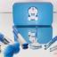 Doraemon mini Brush Set ชุดแปรงแต่งหน้า โดเรม่อน พร้อมกล่อง thumbnail 3