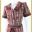 3715เสื้อผ้าคนอ้วนผ้าไทยทอลาย2หน้าเบรคลายด้วยผ้าพื้นปกแขนเอวกระดุมหน้าสไตล์ชุดภูมิฐานเป็นทางการ thumbnail 2