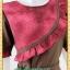 1916เสื้อผ้าคนอ้วน เสื้อผ้าแฟชั่นคอกลมแขนยาวแต่งระบายโค้งด้านหน้าสีสันสดใสเพิ่มความหวานด้วยกระโปรงจีบ thumbnail 3