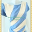 1987เสื้อผ้าคนอ้วน เสื้อผ้าแฟชั่นต่อสีสลับลายทแยงคอกลม ผ้าฮานาโกะเนื้อดีเก็บทรง สไตล์โมเดิร์นอินเทนด์ลวดลายพรางรูปร่างสีสดใส thumbnail 3