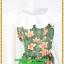 2888เสื้อผ้าคนอ้วน ชุดเดรสสไตล์ย้อนยุคเขียวลายดอกแต่งปกระบายขาวสะดุดตา กระโปรงเข้ารูปเอวทรงบอลลูน thumbnail 2