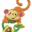 Fisher-Price Rainforest Monkey Teether ยางกัด thumbnail 3
