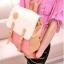 กระเป๋าเป้ กระเป๋าสะพายหลัง สำหรับผู้หญิง หนังนุ่ม สีชมพู thumbnail 6