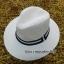 หมวกปานามาปีกกว้าง สีน้ำตาลอ่อน,หมวกทรงปานามา หมวกคาวบอย ปีกกว้าง 6.5 ซม รอบศรีษะ 59 ซม. **สินค้าพร้อมส่งค่ะ*** thumbnail 1