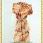 2057ชุดทํางาน เสื้อผ้าคนอ้วนคอบัวผ้าพิมพ์ลายกระโปรงยาวทรงย้วยสวยหวานด้วยสไตล์หวานเรียบร้อย thumbnail 4