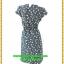 2944เสื้อผ้าคนอ้วน ชุดทำงานสไตล์แขนล้ำสวยมั่นใจแบบสาวอวบโมเดิร์นล้ำ สีดำลายจุดเล็กสุดคลาสสิคได้ทุกงาน thumbnail 4