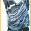 1992ชุดทํางาน เสื้อผ้าคนอ้วนดีไซน์งานการ่าระดับเฟริ์ทคลาส ผ้าหางกระรอกเนื้อนิ่ม คอถ่วงย้วยไล่ระดับแนวเฉลียง กระดุมเพชร thumbnail 2