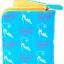กระเป๋าสตางค์ สีฟ้า ลายแมวดำ น่ารัก ไม่เหมือนใคร thumbnail 2