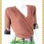 2867เสื้อผ้าคนอ้วน ชุดทำงานชุดกระโปรงผ้าชีฟองคอวีตีเกล็ดไขว้โดดเด่นด้วยกระโปรงแยกชิ้น10ชิ้น แขนยาวทรงสุภาพสวมใส่ทำงานสไตล์สาวอกอวบใหญ่ thumbnail 2