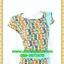 2617ชุดทํางาน เสื้อผ้าคนอ้วนลายเพ้นท์คอกลมแต่งแถบสีข้างเอวสวยหวานเบรคลายด้วยสีเขียวเรียบๆหรูอินเทรนด์ thumbnail 2