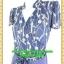2584ชุดเสื้อผ้าคนอ้วน ชุดทำงานลายริ้วสไตล์เปรี้ยวหรูไฮโซชุดคอจีนป้ายสำเร็จเก็บทรงเนี๊ยบสุด thumbnail 3