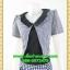 2749เสื้อผ้าคนอ้วน ชุดทำงานคอกลมสีดำแต่งกั๊กลายตารางสไตล์เกาหลีสวมใส่ทำงานน่ารักสะดุดตาให้เลือกสวมใส่ทำงาน thumbnail 3