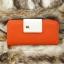 กระเป๋าสตางค์ผู้หญิง ทรงยาว รุ่น Cheer Orange/White thumbnail 2