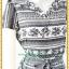 3134ชุดทํางาน เสื้อผ้าคนอ้วนคอวีสีเทาคอวีลายแขนฟิลิปปินส์แต่งโบด้านหน้า สไตล์ล้ำคลาสสิคสุภาพเป็นทางการอย่างโดดเด่นงานละเอียดด้วยซับใน thumbnail 2