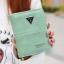 กระเป๋าสตางค์ผู้หญิง ทรงตั้ง รุ่น what สีเขียว มิ้นท์ thumbnail 1