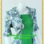 2373ชุดทํางาน เสื้อผ้าคนอ้วนเขียวมีเกาะอกมีชุดคลุมลายวินเทจระบายคอเลิศหรูสีเข้มหรูสง่างามสวมใส่ทำงานสไตล์หรูมั่นใจ thumbnail 2