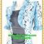 2610เสื้อผ้าคนอ้วน เสื้อผ้าแฟชั่นดอกฟ้าเกาะอกมีชุดคลุมลายวินเทจระบายคอเลิศหรูสีเข้มหรูสง่างามสวมใส่ทำงานสไตล์หรูมั่นใจ thumbnail 3