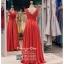 รหัส ชุดราตรียาว : PF002 ชุดราตรียาว เดรสออกงาน ชุดไปงานแต่งงาน ชุดแซก สีแดง สวยด้วยลูกไม้ด้านบนและเรียบหรูด้วยผ้าซาติน เหมาะสำหรับงานแต่งงาน งานกลางคืน กาล่าดินเนอร์ thumbnail 2