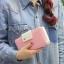 กระเป๋าสตางค์ผู้หญิง ทรงยาว รุ่น Cheer Pink/White thumbnail 6
