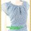 3068เสื้อผ้าคนอ้วน ชุดทำงานสไตล์ผ้าชีฟองคอกลมแขนล้ำสวยมั่นใจแบบสาวอวบโมเดิร์นล้ำ สีฟ้าลายช่องสี่เหลี่ยมเล็กสุดคลาสสิคติดหรูได้ทุกงาน thumbnail 2