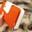 กระเป๋าสตางค์ผู้หญิง ทรงยาว รุ่น Cheer Orange/White thumbnail 5