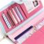 กระเป๋าสตางค์ผู้หญิง ทรงยาว รุ่น Cheer upl - Pink thumbnail 3