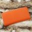 กระเป๋าสตางค์ผู้หญิง ทรงยาว รุ่น Cheer Orange/White thumbnail 3