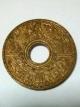 (P4USD+SHIP3USD) เหรียญกษาปณ์ทองแดง 1 สตางค์ ปี พ.ศ. 2484