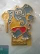 (P7USD+SHIP4USD) เข็มกลัดที่ระลึกกีฬาเอเชี่ยนเกมส์ ครั้งที่ 13 BANGKOK GAMES 1998 (กีฬาฟันดาบ) พร้อมบัตรที่ระลึก