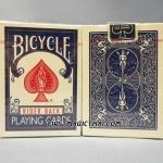 ไพ่สะสมสำรับนักเล่นกล Bicycle สีน้ำเงิน