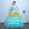 ชุดแต่งงาน [ ชุดพรีเวดดิ้ง Premium ] APD-027 กระโปรงสุ่ม สีฟ้าอ่อน (Pre-Order)