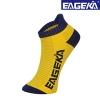 ถุงเท้ากีฬาข้อสั้นสีเหลือง
