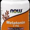 Melatonin 3 mg NOW