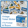 Vintage Ticket Sticker [VTS-Postage]