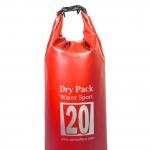 กระเป๋ากันน้ำ Dry pack 20L-สีแดง
