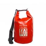 กระเป๋ากันน้ำ Dry pack 10L-สีแดง