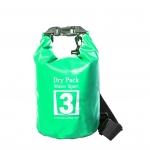 กระเป๋ากันน้ำ Dry pack 3L- สีเขียวแอปเปิ้ล