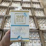 โลชั่นน้ำนม SWP มิลค์กี้ไวท์พลัสไวท์เทนนิ่งบอดี้โลชั่น บำรุงผิวขาว ราคาถูก ส่งฟรี ems